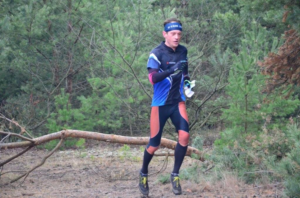 Zwycięzca biegu - Mariusz Plesiński
