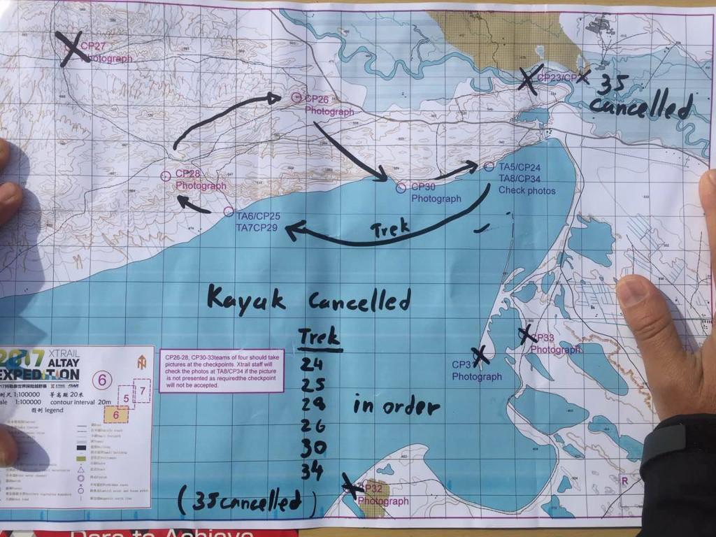 Wind effected course, czyli nasza ziana trasy w obrazku