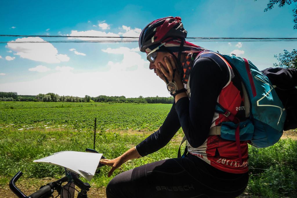 """Pozostałe ponad 200km na rowerze robiłem w pozycji """"na filozofa"""""""